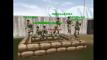 Мачът: - Fos - vs. Merc 5:0 с участие на Българин