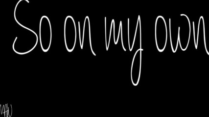 Machine Gun Kelly Ft.collin Hilton - All Alone With Lyrics
