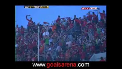 Barcelona Vs. Osasuna 0 - 1 Pandiani Goal 23.05.2009