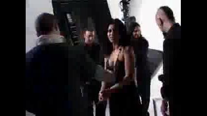 Lacuna Coil - Max Backstage