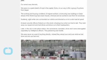BBC Journalists Detained While Covering Qatar World Cup Migrant Labor