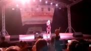 Концерта на Десислава на панира в град Видин - част -9