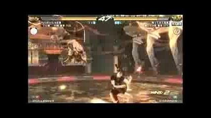 Tekken 6 - Julia vs Xiaoyu Bruce vs Paul Law vs Zafina