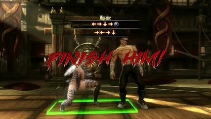 Mortal Kombat 9 - Sindel Fatality #1