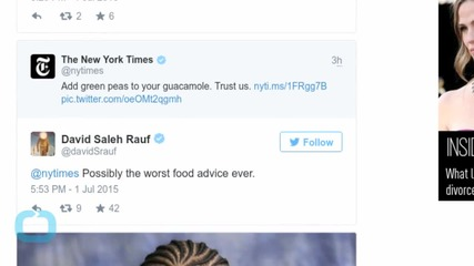The New York Times Angers Internet With Guacamole Recipe