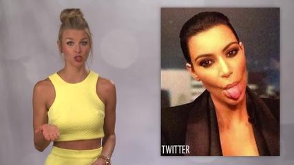 Kim Kardashian Challenges Twitter to Add Edit Feature