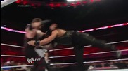 Roman Reigns vs. Kane & Randy Orton - 2-on-1 Handicap Match: Raw, July 21, 2014