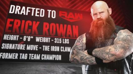 Erick Rowan goes to Raw and more in WWE Draft Third Round: Raw, Oct. 14, 2019