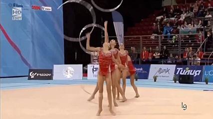 Ансамбъл България 5 обръча финал - Световна купа София 2018