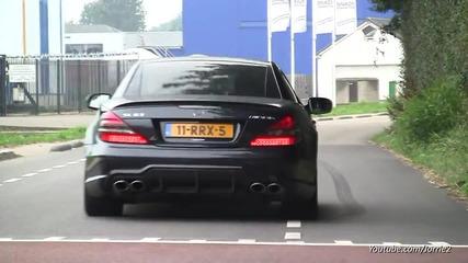 Mercedesbenz C63cls63slssl55 Amg Bmw M5 F10 Audi R8 V10 Sounds!