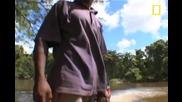 Племето Каран - на лов за прилепи.