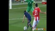 Мондиал 2010 Парагвай - Испания 0:1