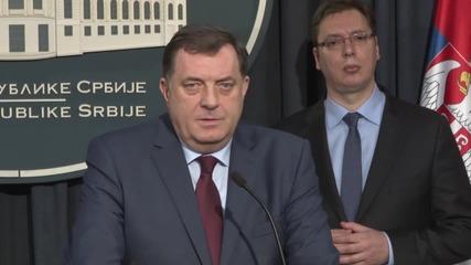 Serbia: Republika Srpska and Serbia agree to keep military neutrality