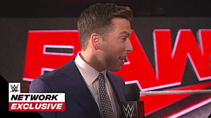 Kevin Patrick is excited for his first Monday Night Raw: WWE Network Exclusive, Mar. 8, 2021