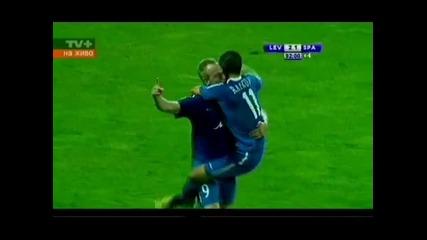 Левски - Спартак Търнава (2 1) Уникалният гол на Гаджев!