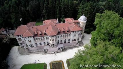 Заснемане с дрон: Парк Врана - двореца и езерото