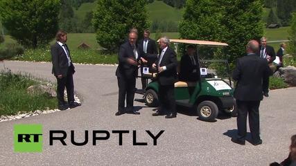 Germany: Merkel welcomes G7 leaders at Castle Elmau as summit kicks off