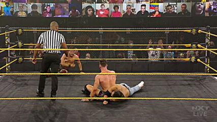 Kushida & Leon Ruff vs. Johnny Gargano & Austin Theory – Dusty Rhodes Tag Team Classic First Round: WWE NXT, Jan. 20, 2021