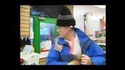 Нахален крадец в супермаркета