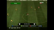 pes 2010 gol na dimitar berbatov