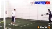 Игуаин е добър и с баскетболната топка