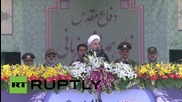 Iran: Rouhani says Iranian armed forces are largest power against 'terror'