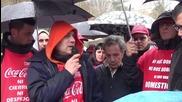 Spain: Coca-Cola workers decry maltreatment in Madrid