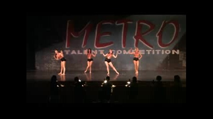 Metro Talent Competition 2009 - Jazz Dance Senior Group