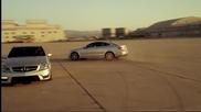 Mercedes-benz C63 Amg Coupe drift