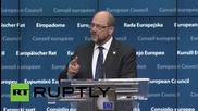 Belgium: Agreement on Greece's bailout a first step, not a solution - Schulz