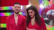 Dancing Stars - Михаела и Светльо за предизвикателството салса (15.04.2014г.)