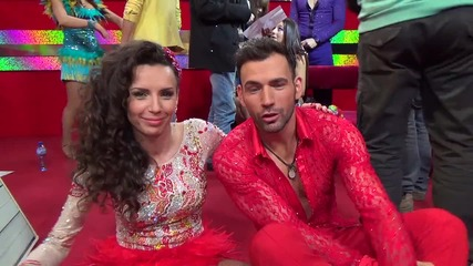 Dancing Stars - Нели и Наско за каските и тренировките (15.04.2014г.)