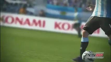 Pro Evolution Soccer 2011 - Official Gameplay Trailer