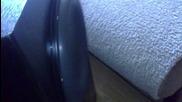"Excursion Test/ Bass I Love You/ Hi-vi Sp10 Subwoofer 10"" 500w Rms 4ohm/ 700w 4ohm Biema monoblock"