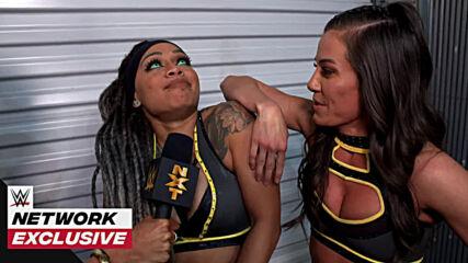 Kacy Catanzaro & Kayden Carter told you so: WWE Network Exclusive, Jan. 20, 2021