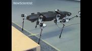 Гигантски робот-насекомо прави първите си стъпки