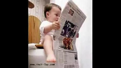 Смешни бебешки снимки