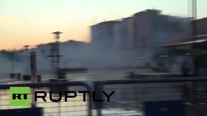 Turkey: Water cannon used to disperse anti-government protest in Diyarbakir