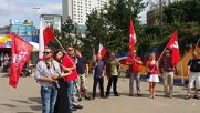 Poland: Protesters denounce arrest of Zmiana party leader in Warsaw