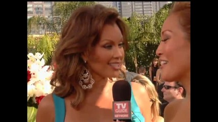 Награди Еми - Ванеса Уилиамс интервю на червения килим