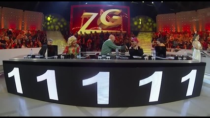 Pedja Vujic i Minel Spahovic - Splet - (Live) - ZG 4 Krug 2013 14 - 26.04.2014. EM 29.