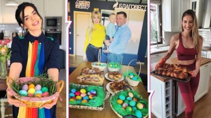Известните българки и традииците: Кои замесиха козунаци, как боядисаха яйцата за Великден?