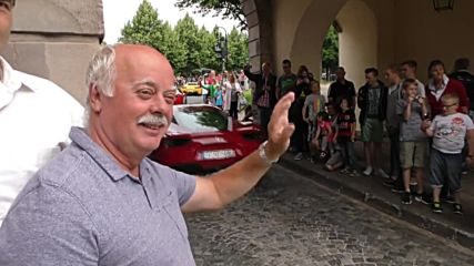 Germany: Holy motors! Priest blesses hundreds of FERRARIS in Fulda