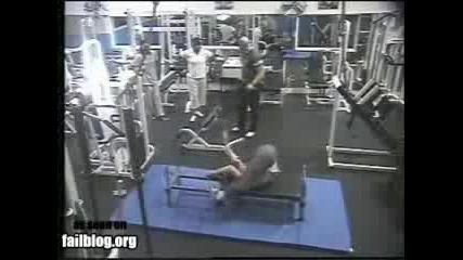 Смях във фитнеса