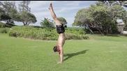 Гимнастика за напреднали- баланс на ръце