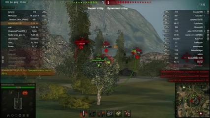 World of tanks Bg666bg - рикошет