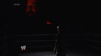 John Cena calls out Bray Wyatt Raw (03.03.14)