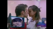 Kisses Between Daniel And Mariela