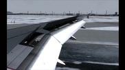 Fsx - Полет от Франция до България