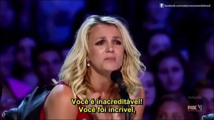 13 годишно момиче вдигна журито и публиката на крака - Carly Rose Sonenclar X Factor Usa 2012